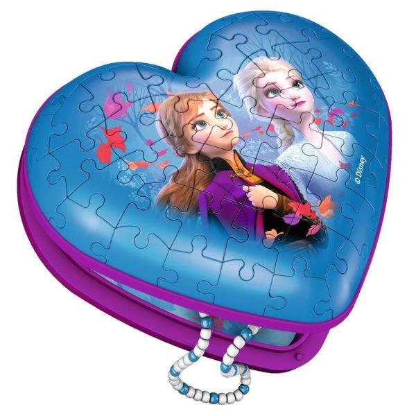 Disney Frozen 2 - Heart Box 3D 54 Piece Ravensburger