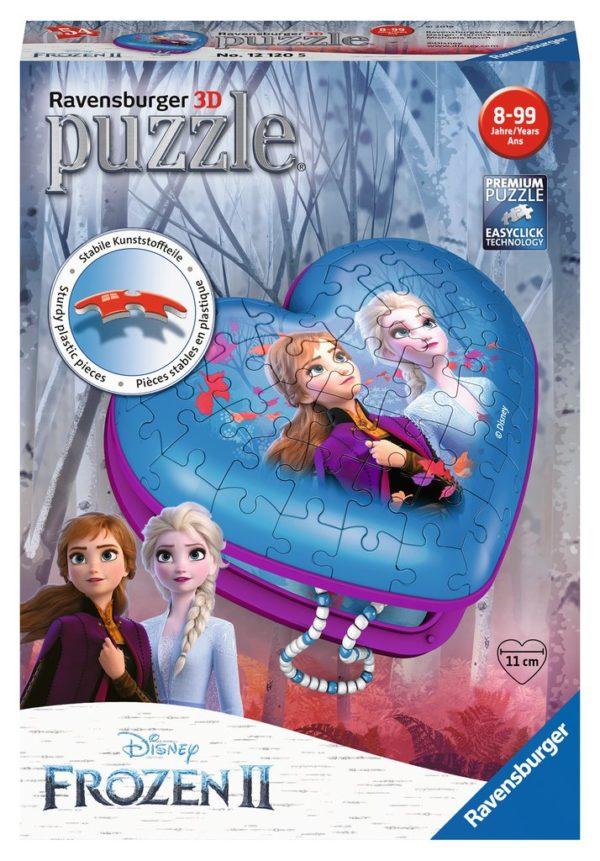 Disney Frozen 2 - Heart Box 3D 54 Piece - Ravensburger