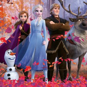 Disney Frozen 2 - Magic of the Forest 100 XXL Piece Jigsaw Puzzle - Ravensburger