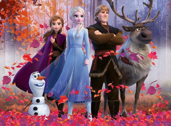 Disney Frozen 2 - Magic of the Forest 100 XXL Piece Jigsaw Puzzle - Ravensburger