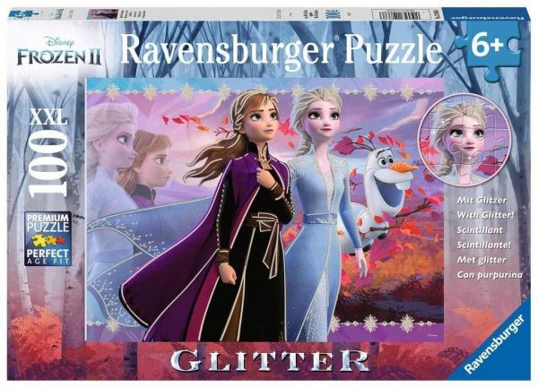 Disney Frozen 2 - Strong Sisters 100 XXL Piece Jigsaw Puzzle - Ravensburger