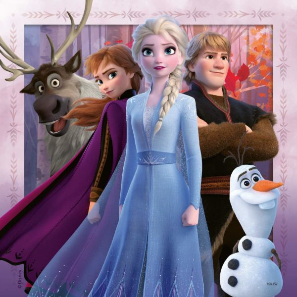 Disney Frozen 2 - The Journey Starts 3 x 49 Piece Puzzle - Ravensburger