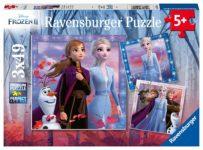 Disney Frozen 2 - The Journey Starts 3 x 49 Piece Puzzle - Ravensburger