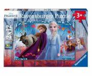 Disney Frozen II - Journey into the Unknown 2 x 12 Piece Puzzle - Ravensburger