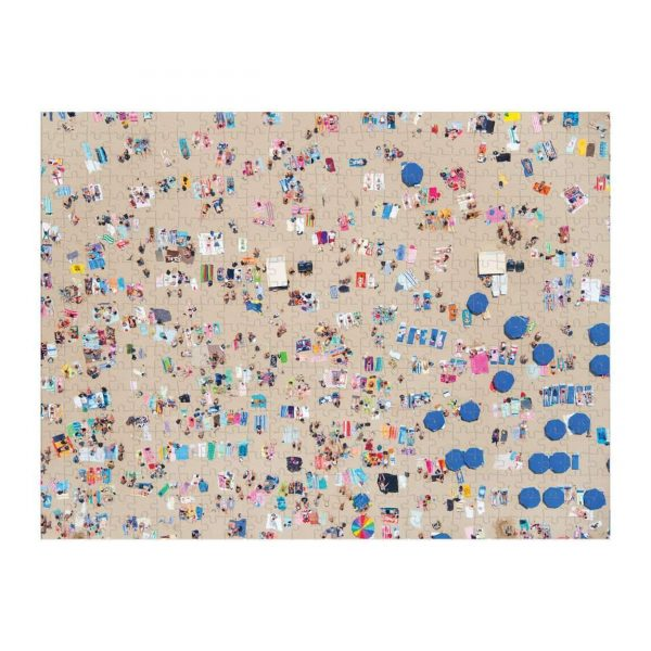 Gray Malin Beach 500 Piece Double Sided Jigsaw Puzzle - Galison