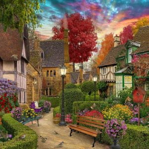 Home Sweet Home S2 - English Garden 1000 Piece Jigsaw Puzzle - Holdson
