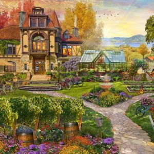 Home Sweet Home S2 - Vineyard Retreat 1000 Piece Jigsaw Puzzle - Holdson