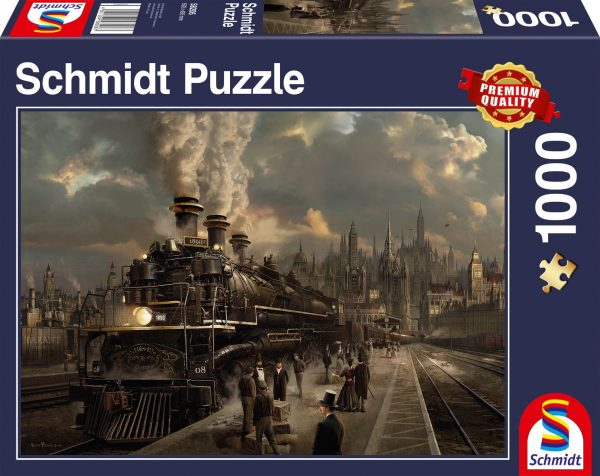 Locomotive 1000 Piece Puzzle - Schmidt