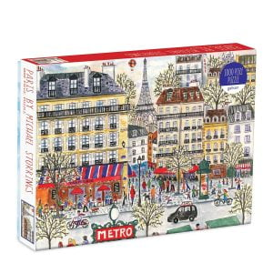 Michael Storrings Paris 1000 Piece Jigsaw Puzzle - Galison