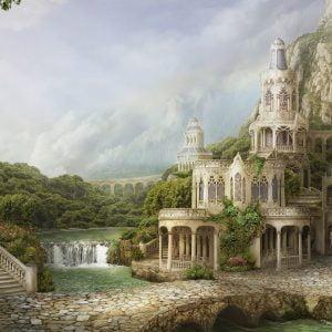 Mihailova - Mountain Palace 1000 Piece Puzzle - Schmidt