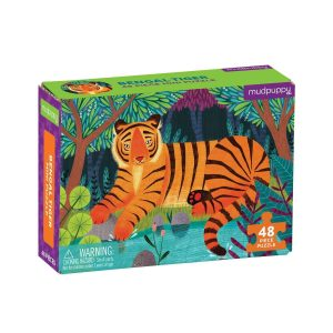 Mini Puzzle - Bengal Tiger 48 Piece - Mudpuppy