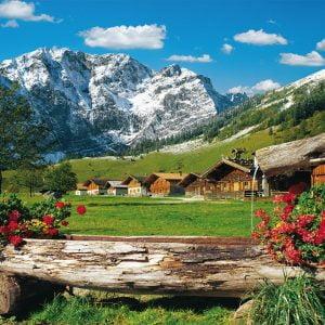 Mountain Paradise 1000 Piece Jigsaw Puzzle - Schmidt