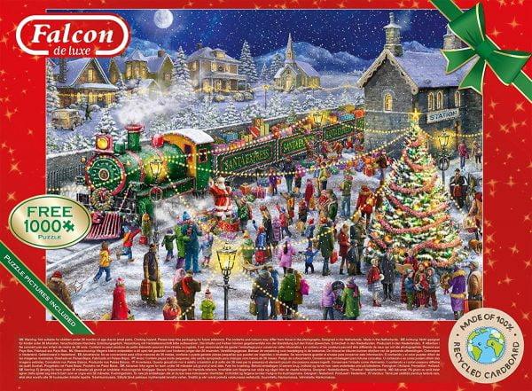 Santa's Special Delivery 2 x 1000 Piece Puzzles - Falcon de luxe