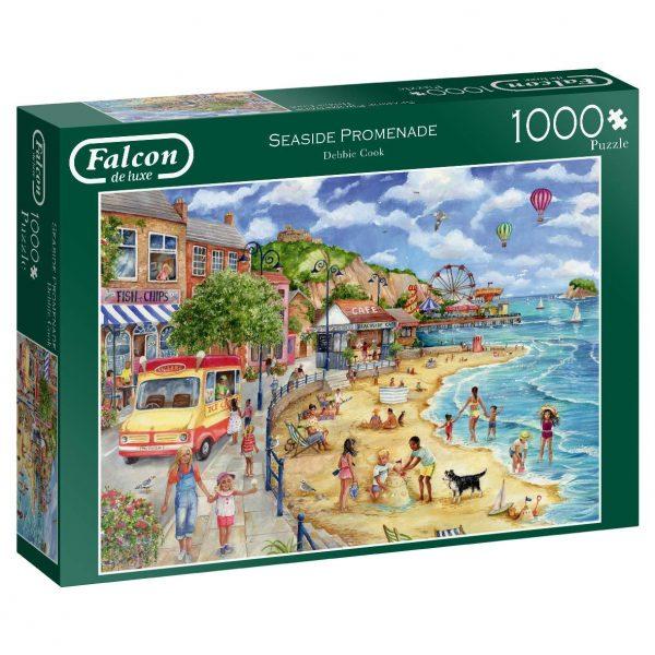 Seaside Promenade 1000 Piece Puzzle - Falcon de luxe