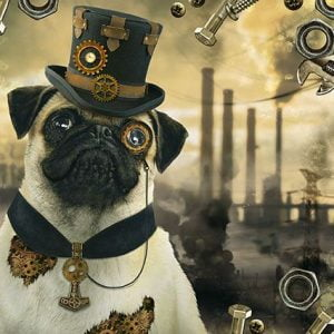 Steampunk Dog 1000 Piece Jigsaw Puzzle - Schmidt