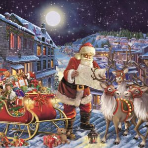 The Christmas Journey 200 XL Piece Jigsaw Puzzle - Falcon de Luxe