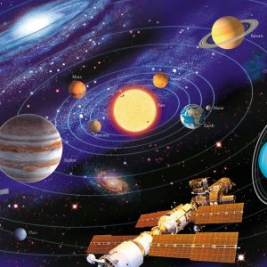 The Solar System 200 Piece Jigsaw Puzzle - Ravensburger