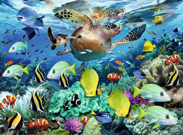 Underwater Paradise 150 Piece Jigsaw Puzzle - Ravensburger