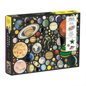 Zero Gravity 1000 Piece Jigsaw Puzzle with Shaped Pieces - Galison