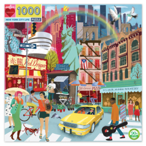 New York City Life 1000 Piece Jigsaw Puzzle - Eeboo