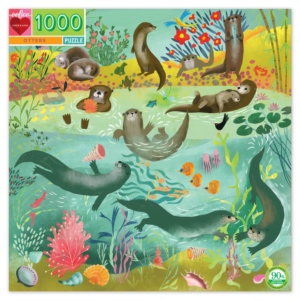 Otter 1000 Piece Jigsaw Puzzle - Eeboo