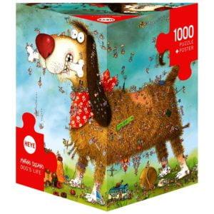 Degano - Dog's Life 1000 Piece Puzzle - Heye