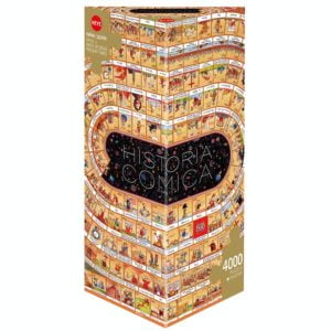 Degano - Historia Comica Opus 1 - Birth of Jesus Present Times 4000 Piece Puzzle - Heye