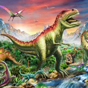 Gallery 6 - Jurassic Landscape 300 XL Piece Puzzle - Holdson