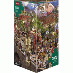 Gobel Knorr - Street Parade 2000 Piece Puzzle - Heye