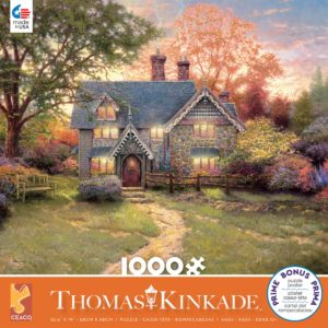 Thomas kinkade - Gingerbread Cottage 1000 Piece Puzzle - Ceaco