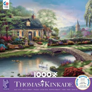 Thomas Kinkade - Stoney Creek Cottage 1000 Piece Puzzle - Ceaco