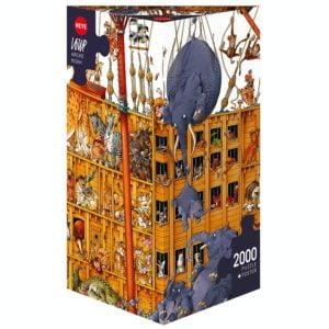 Loup - Arche Noah ( Noah's Ark) 2000 Piece Puzzle - Heye