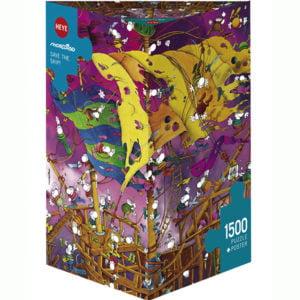 Mordillo - Save the Ship 1500 Piece Puzzle - Heye