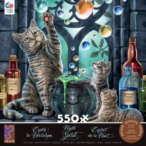 Night Spirit - Hubble Bubble 550 Piece Puzzle - Ceaco