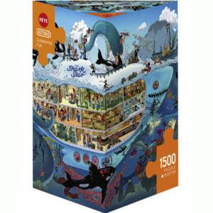 Oesterle - Submarine Fun 1500 Piece Puzzle - Heye