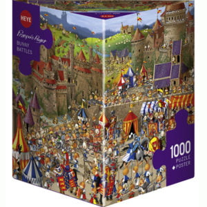 Ruyer - Bunny Battles 1000 Piece Puzzle - Heye