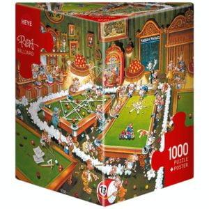 Ryba - Billiards 1000 Piece Puzzle - Heye