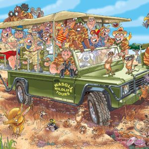 Wasgij Original 31 - Safari Surprise 1000 Piece Puzzle - Holdson
