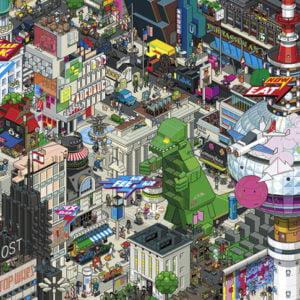 eBoy - Berlin Quest 1000 Piece Puzzle - Heye