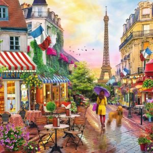 Charming Paris 1500 Piece Puzzle - Trefl