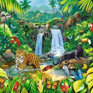 Tropical Forest 2000 Piece Puzzle - Trefl