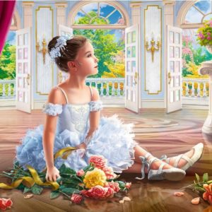 Little Ballerina 500 Piece Puzzle - Trefl