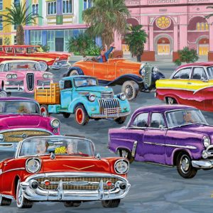 Cruis'in 500 Large Piece Format Jigsaw Puzzle - Ravensburger