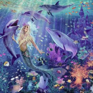 Brilliant - Charming Mermaids 500 Piece Puzzle - Ravensburger