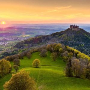 Castle Hohenzollern 1000 Piece Puzzle - Ravensburger