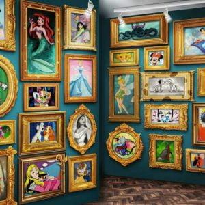 Disney Museum 9000 Piece Puzzle - Ravensburger