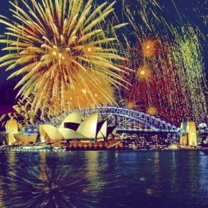 Fireworks over Sydney 1000 Piece Puzzle - Ravensburger