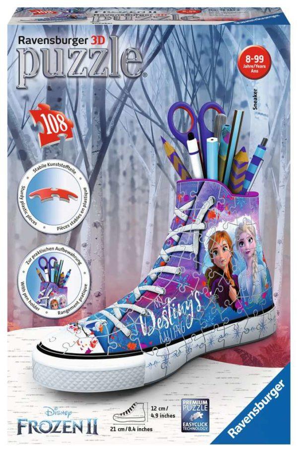 Frozen 2 Sneaker 3D Puzzle 108 Piece - Ravensburger