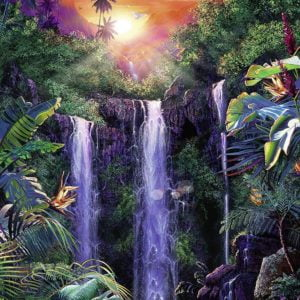 Magical Waterfall 500 Piece Jigsaw Puzzle - Ravensburger