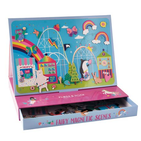 Magnetic Play Scene - Rainbow Fairy - Floss & Rock